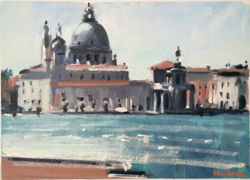 Venice, Santa Maria della salute.