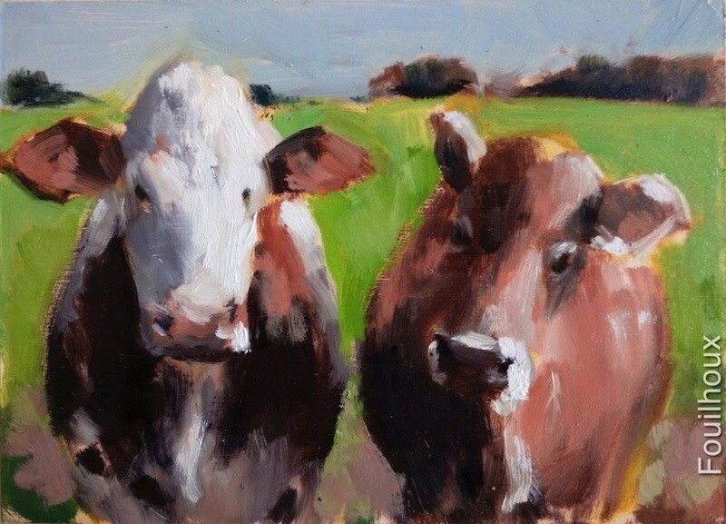 vache 7 / cow 7