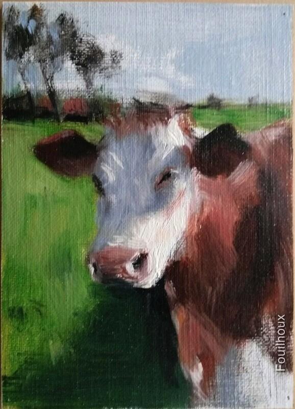 vache 8 / cow 8