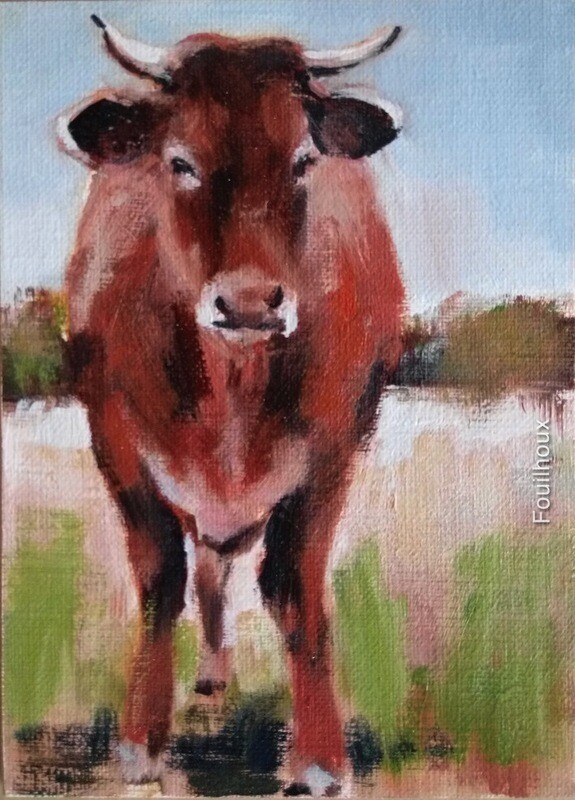 vache 14 / cow 14