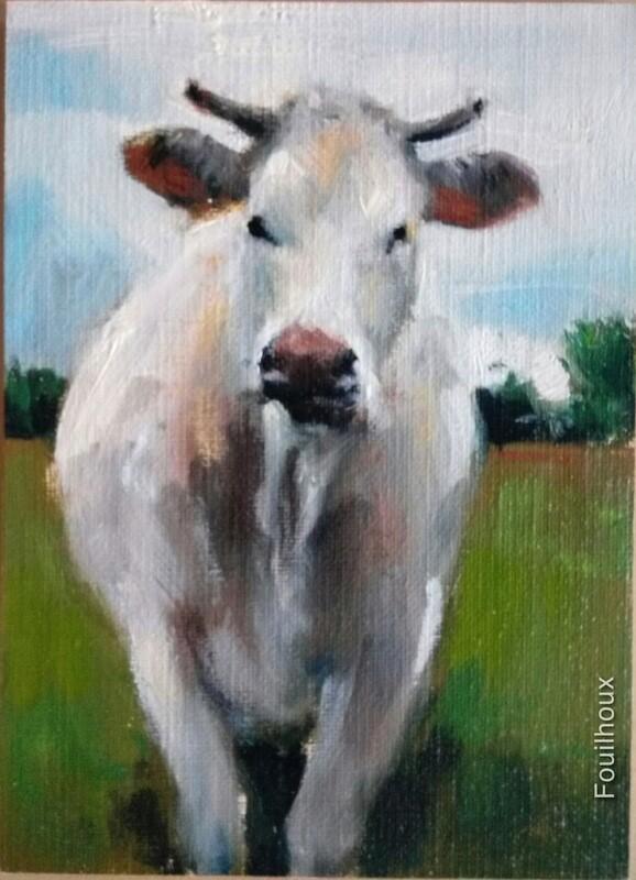 vache 9 / cow 9