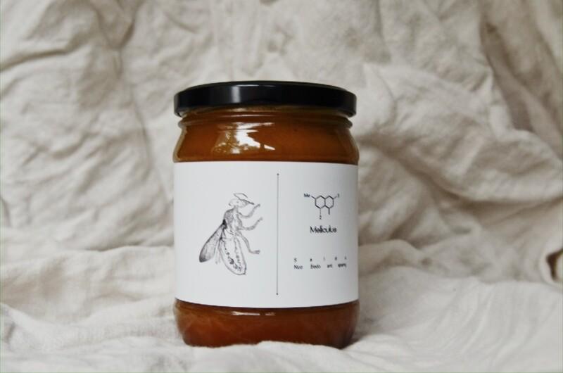 Mariaus Pukelio medus 0,7 kg.