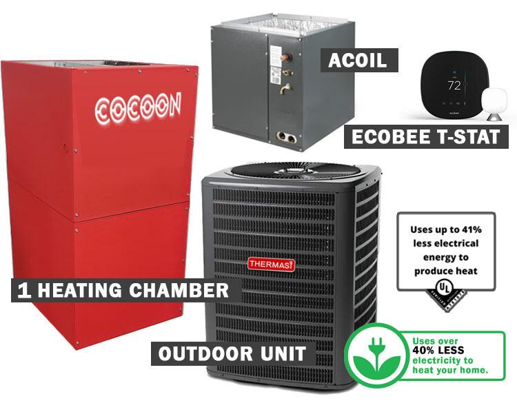 COCOON Compact Furnace & AC Bundle-1800