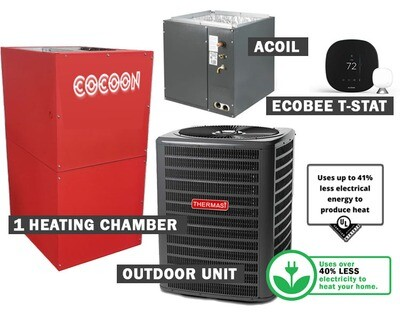 COCOON Compact Furnace & AC Bundle-1800