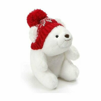 Mini Snuffles Bear with Knit Hat