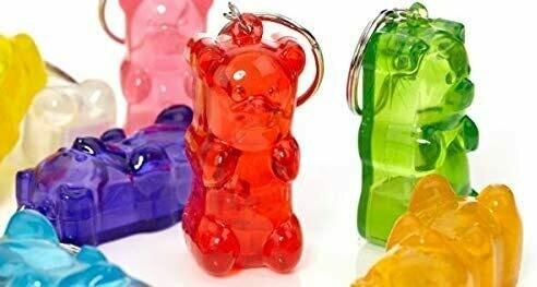 GummyGoods Gummy Bear Light-Up Keychain