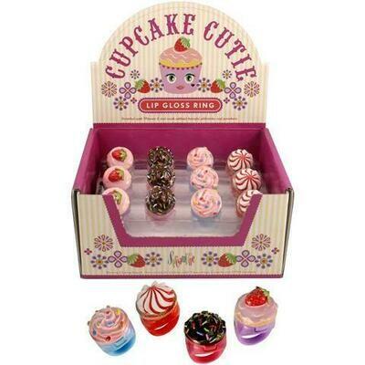 Cupcake Cutie Ring and Lip Gloss