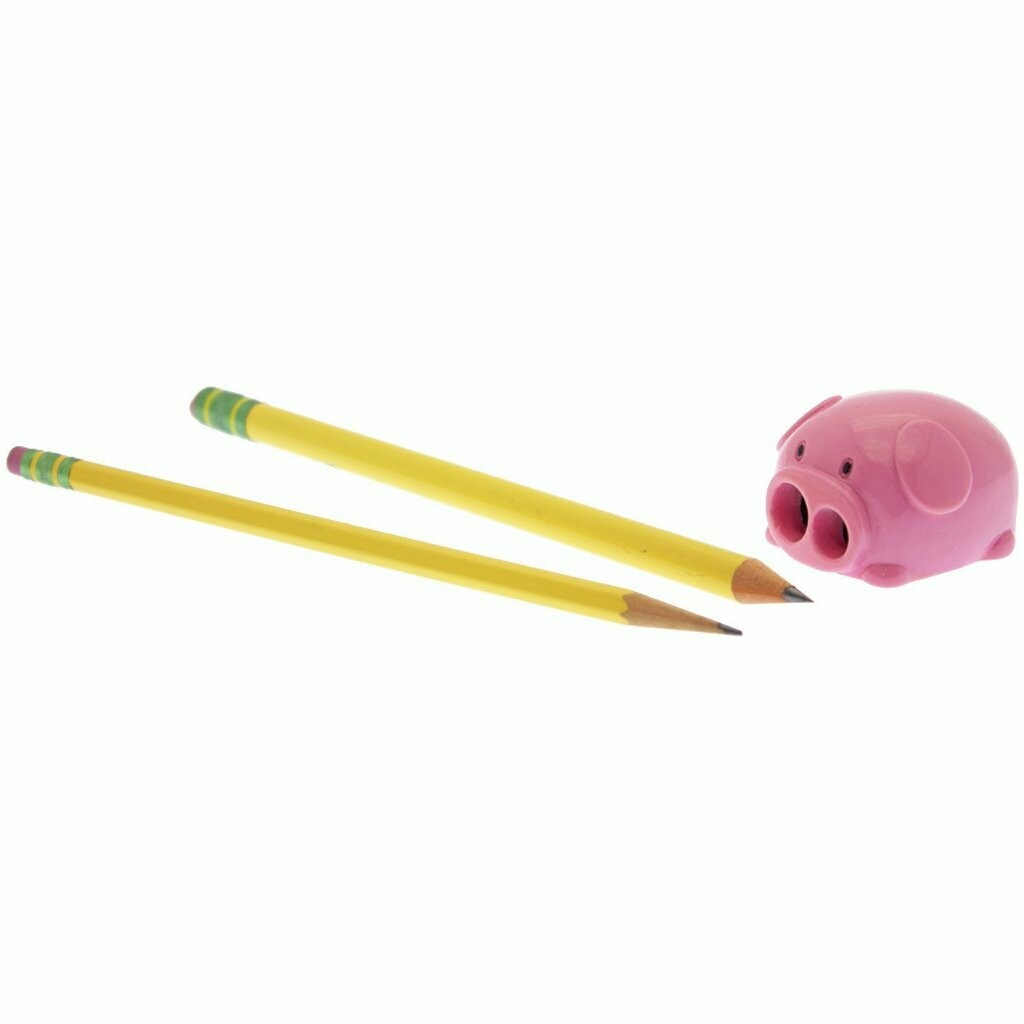 Piggy Pencil Dual Sharpener