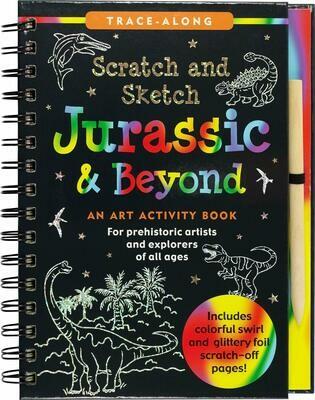 Scratch & Sketch Jurassic (Trace Along)