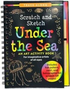 Scratch & Sketch Under the Sea (Trace Along)