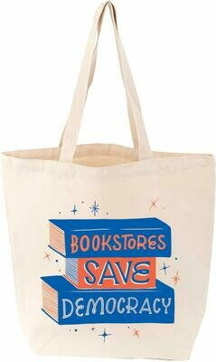 Bookstores Save Democracy Tote Bag