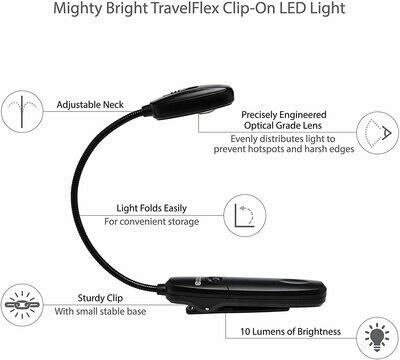 TravelFlex Book Light