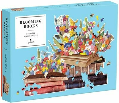 Blooming Books Shaped Puzzle - 750 pieces