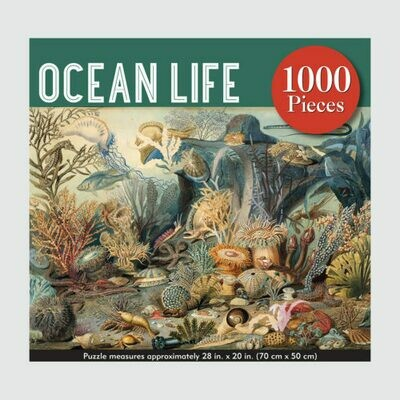 Ocean Life 1,000 Piece Jigsaw Puzzle