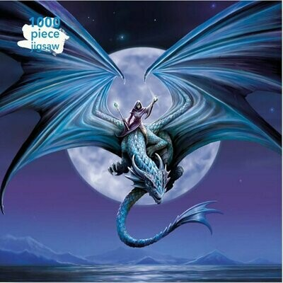 Anne Stokes: Moonstone Dragon Rider Puzzle 1000 pieces