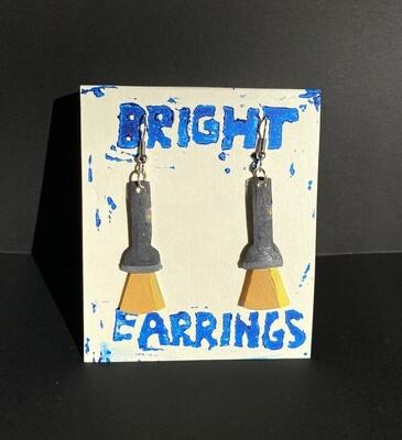 Flashlight Earrings (Bright Earrings)