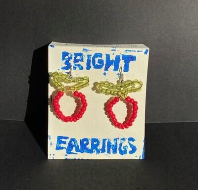 Strawberry Earrings (Bright Earrings)