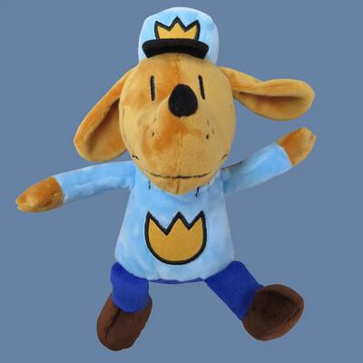Dog Man Plush Doll
