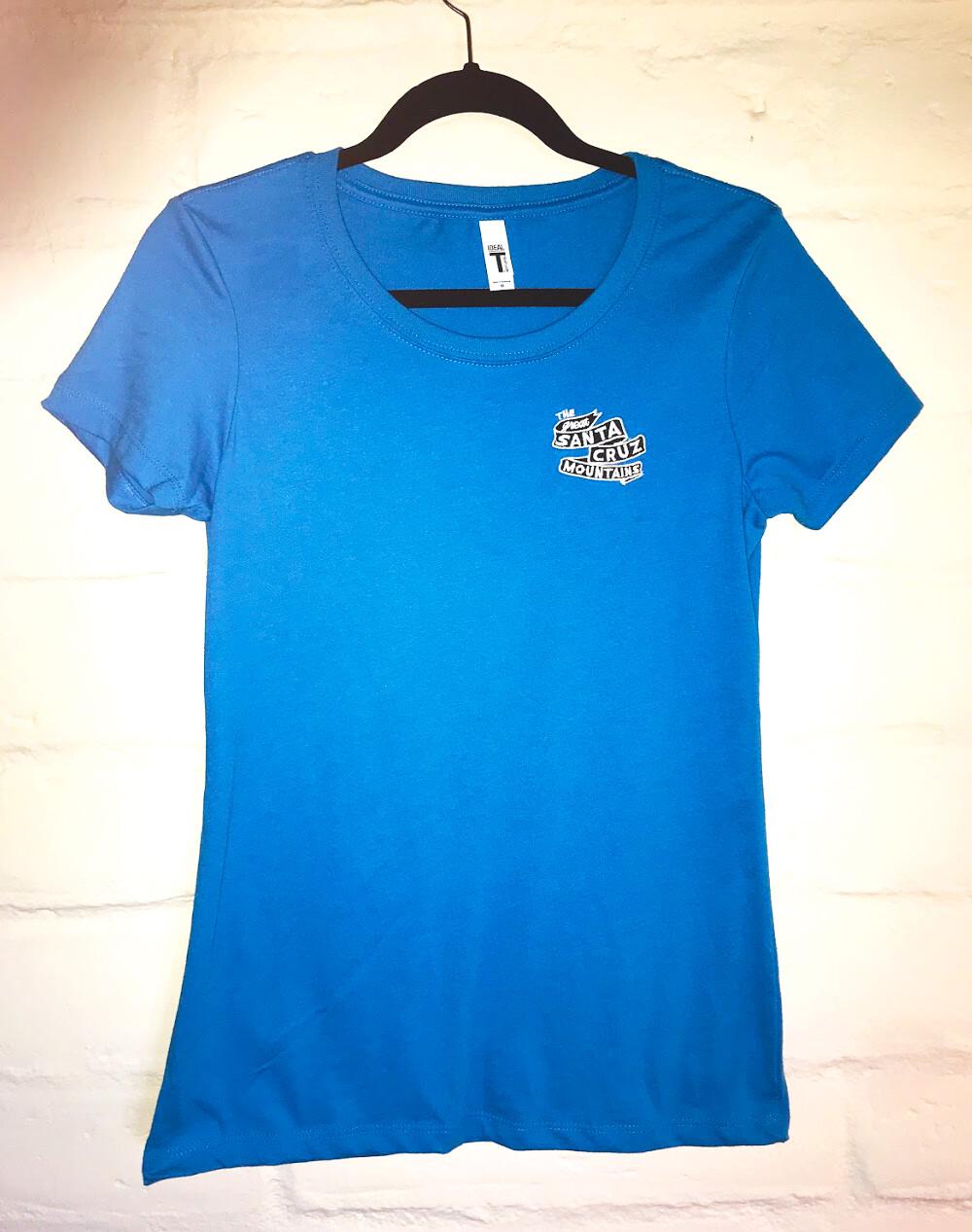 Women's Premium Embroidered Banner T-Shirts
