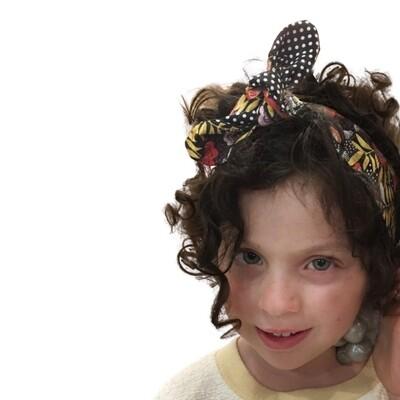 Cintas de pelo con nudo bug bunny , estilo diadema, con  estampados diferentes.