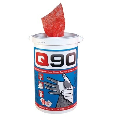 Q90 - Industrial Hand Cleaning Wipes - 90 pcs