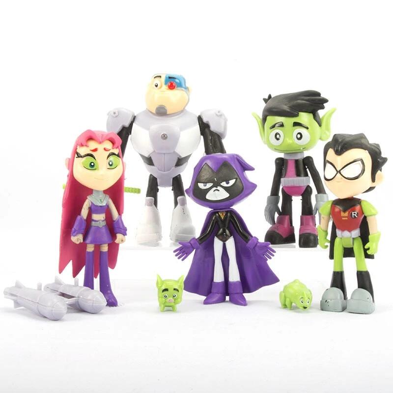 Teen Titans Go! Action Figures