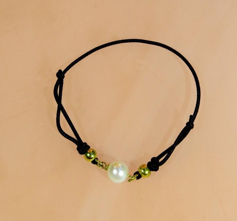 Bracelet perle de culture blanche Akoya