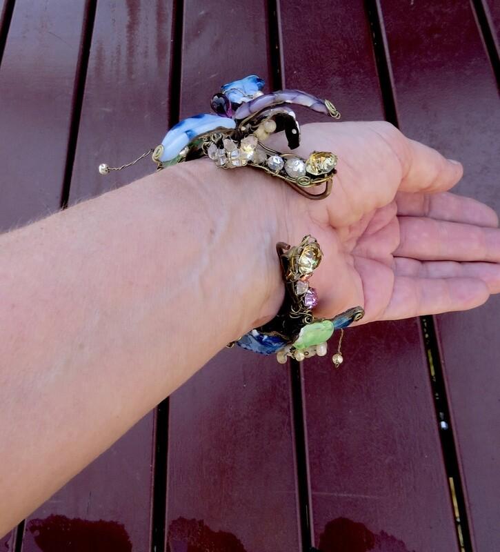 Bracelet Vintage, prototype Haute Couture 1999