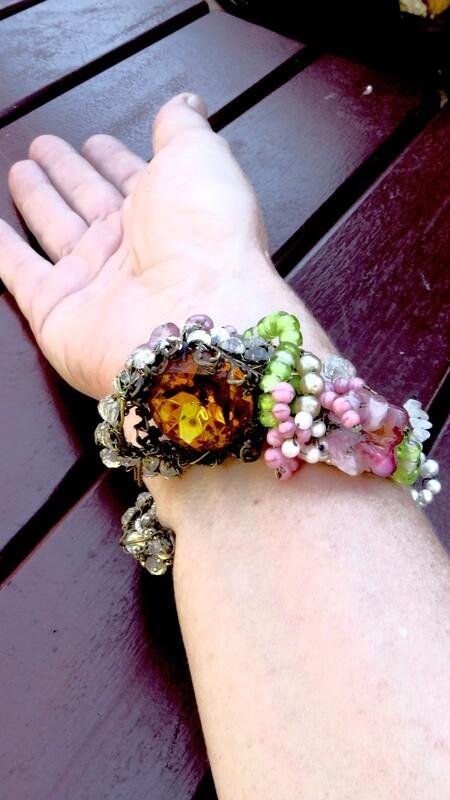 Bracelet Vintage, prototype Haute Couture 1997