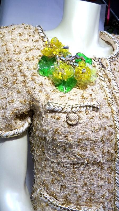 Broche Vintage, prototype Haute Couture 1996