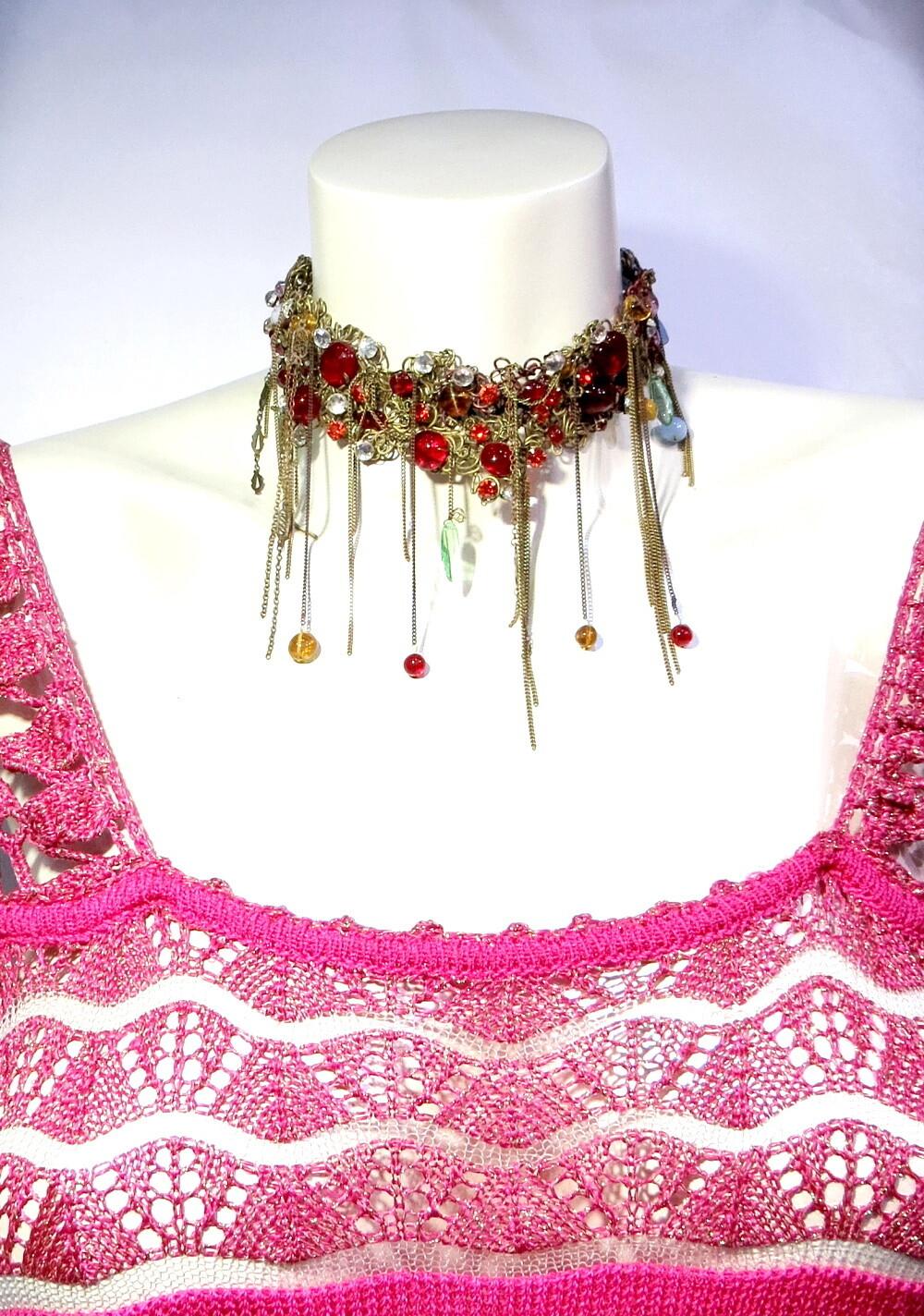 Collier Haute Couture Esmelralda S