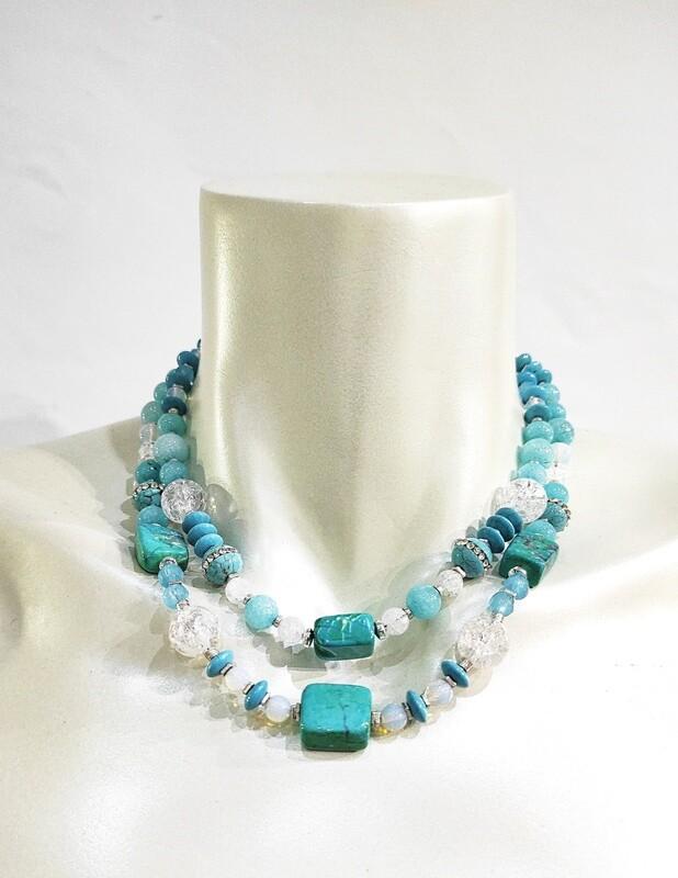 Collier Turquoise Lagune