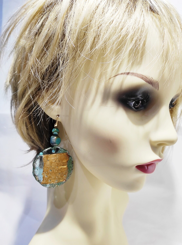 Boucles d'oreilles ATOLL