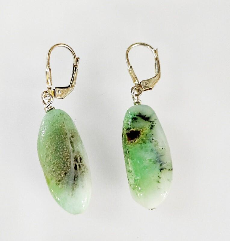 Boucles d'oreilles Opale