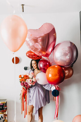 Total Romance Balloon Bunch