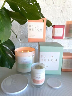 Large Palm Beach Candle