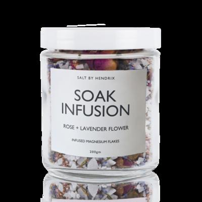 Soak Infusion - Rose + Lavender Flower