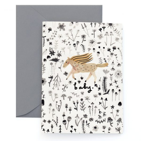 Gallop for Baby Card