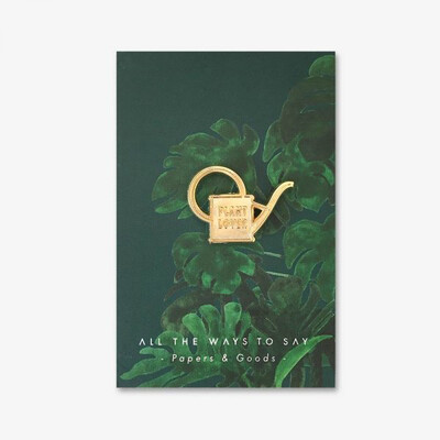 Plant Lover Pin