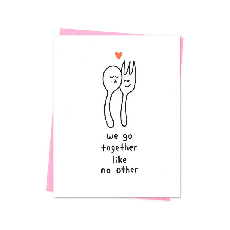 We Go Together Card