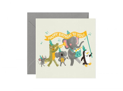 Birthday Band Card