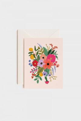Garden Party Pink Card