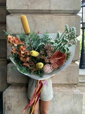 Native and Textural Signature Bouquet
