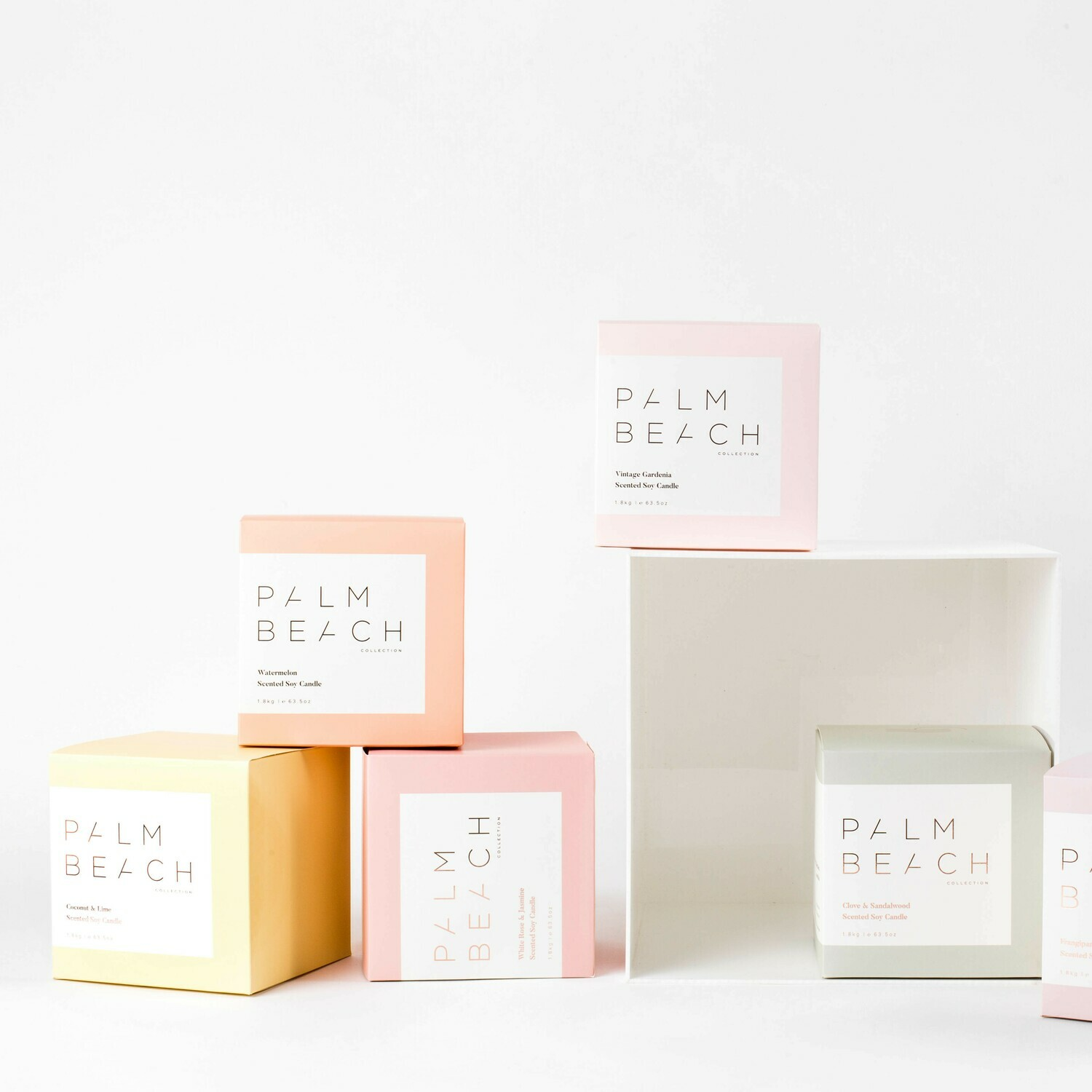 Small Palm Beach Candle