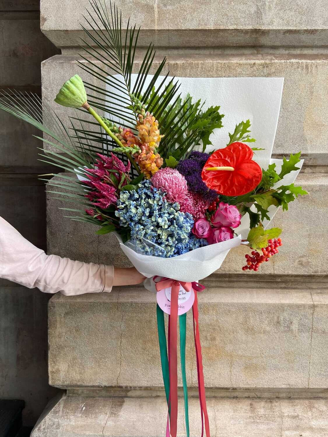 Vibrant and Punchy Signature Bouquet