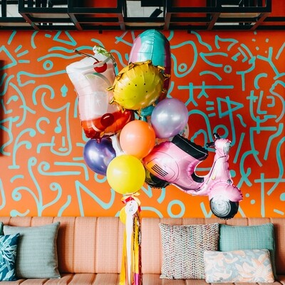 For the Love of Summer Balloon Bunch