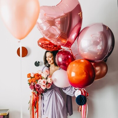Total Romance Balloon Bunch