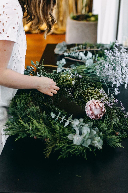 Christmas Wreath Workshop - Saturday 27th November (MORNING)