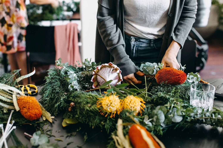 Christmas Wreath Workshop - Saturday 4th December (MORNING)
