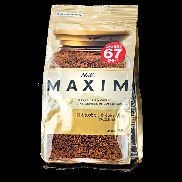 Кофе AGF Maxim Gold растворимый 135 г